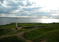 Вид на Плещеево озеро