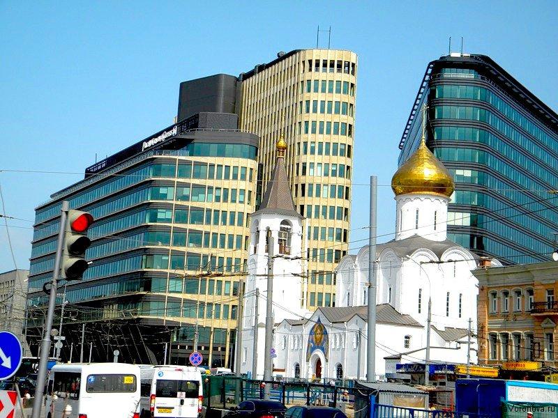 Церковь у Белорусского